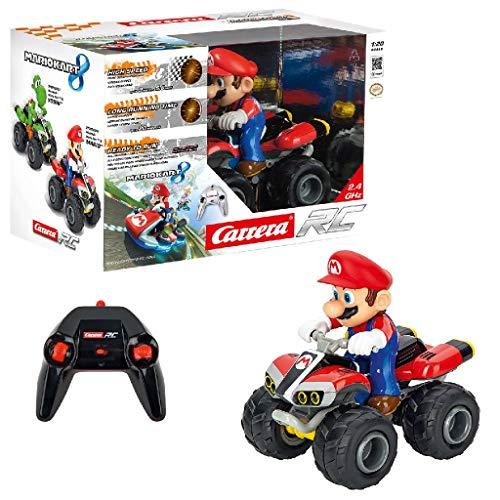 Carrera RC Mario Kart - Quad – Ferngesteuertes Kinderfahrzeug für drinnen & draußen –...