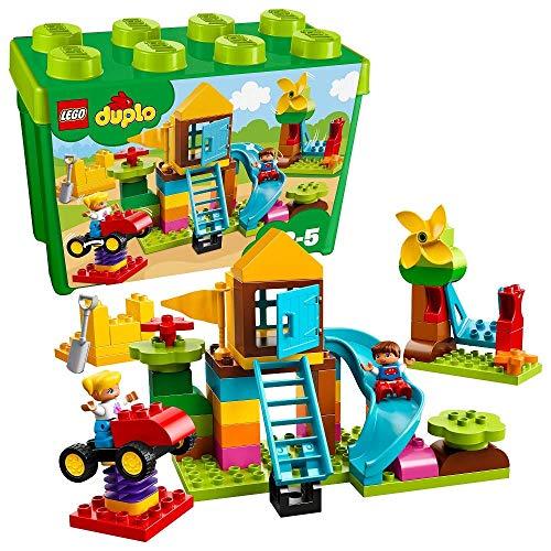 LEGO duplo - Steinebox mit großem Spielplatz