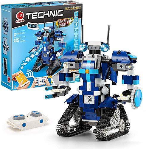 CIRO Programmierbarer and Ferngesteuerter Roboter Steuerung per APP und Fernbedienung STEM Technik...