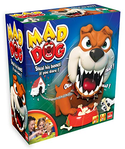 Goliath Games Mad Dog, Steal His Bones If You Dare, EIN spannendes Brettspiel für Kinder ab 4 Jahren