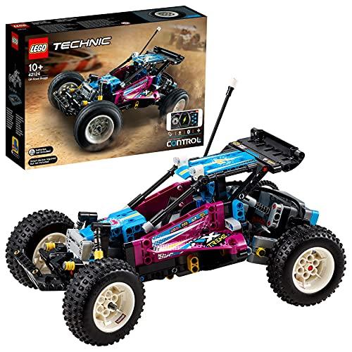 LEGO 42124 Technic Control+ Geländewagen, ferngesteuertes Offroad-Auto, Spielzeugauto, RC Buggy für...