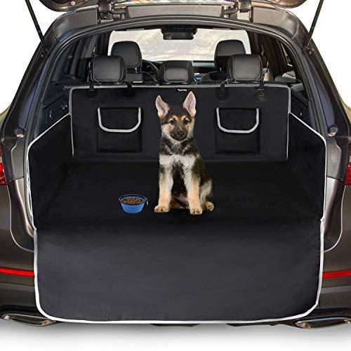 Toozey Kofferraumschutz Hund mit Seitenschutz - Universal Auto Kofferraum Hundedecke - Robuste...