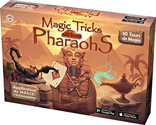 Mikael Montier - Digitaler Zauberkasten (80 Zaubertricks) - Magic Tricks of The Pharaohs - Zauberkoffer...