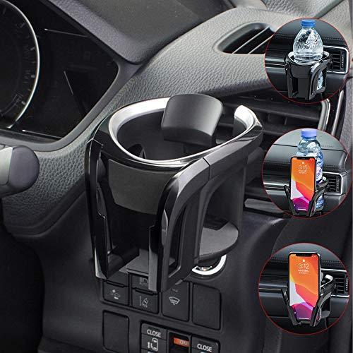 Tawveml Universal KFZ Auto Getränkehalter/Becherhalter Handyhalterung/Multifunktion 2 in 1...
