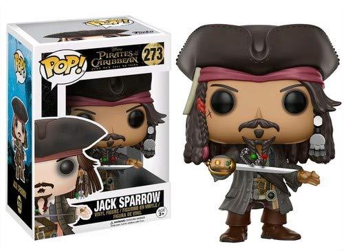 Funko 12803 POP! Vinylfigur: Disney: Pirates 5: Jack Sparrow