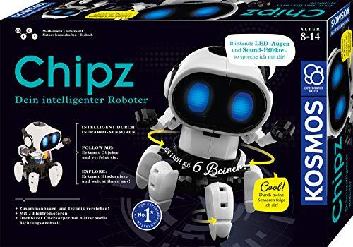 Kosmos 621001 - Chipz - Dein intelligenter Roboter, mit 6 Beinen, folgt Bewegungen, weicht Hindernissen...