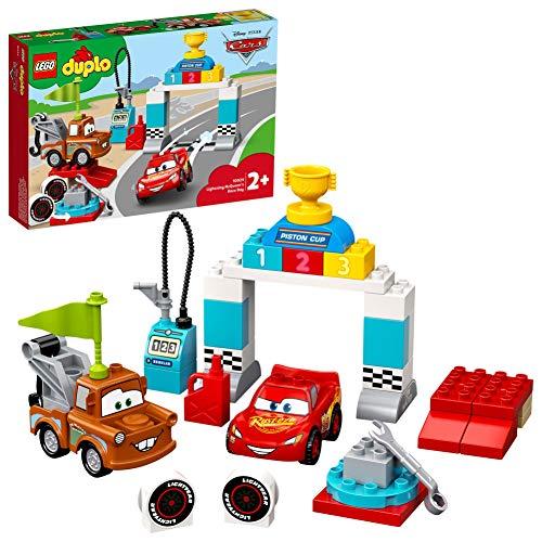 LEGO 10924 DUPLO Cars Lightning McQueens großes Rennen, Disney Pixar Cars Spielzeug für Kleinkinder ab...