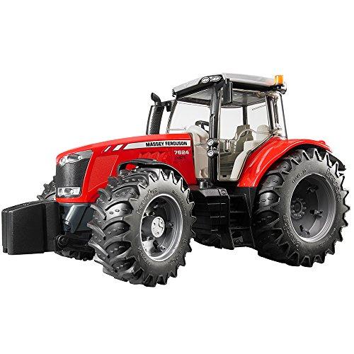 Bruder 03046 - Massey Ferguson 7624, Rot