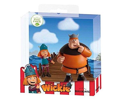 Bullyland 43152 Figuren Set 'Wickie und die starken Männer - Wickie und Faxe'