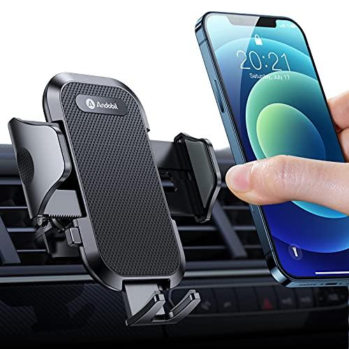 andobil Handyhalterung Auto Lüftung [Stabil & Never Fall] Patent Design mit 2 Lüftungsclips [Flexible &...