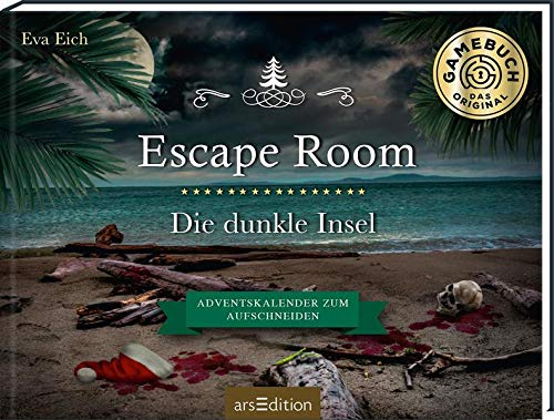 Escape Room. Die dunkle Insel. Adventskalender zum Aufschneiden: Das Original: Der neue...