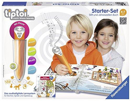 tiptoi® Starter-Set Wieso? Weshalb? Warum? Unsere Jahreszeiten: tiptoi® Stift mit Player und Buch...