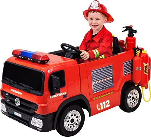 Kinder Elektroauto Feuerwehr