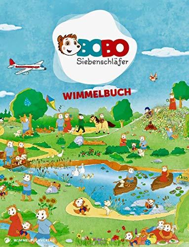 Bobo Siebenschläfer Wimmelbuch: Kinderbücher ab 2 Jahre