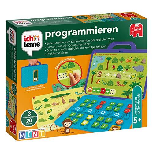 Jumbo JUM19722 ich lerne programmieren Lernspiel für Kinder, Ab 5 Jahren
