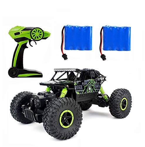 Ferngesteuertes Autos,RC Auto Rock Crawler,1:18 Ferngesteuertes Monstertruck,4WD Elektrisches Offroad...