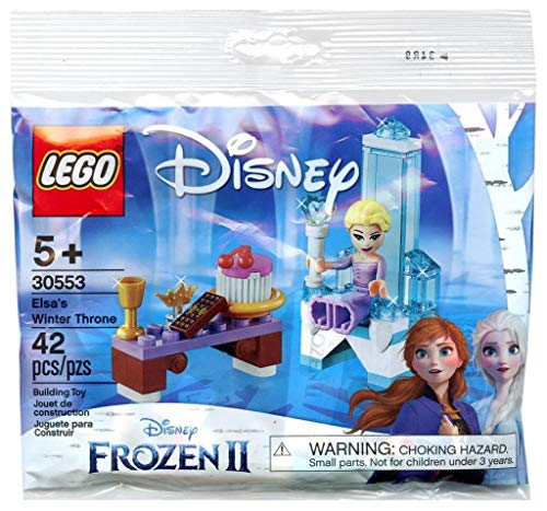 Disney Frozen II - Lego Set Frozen Thron 30553 ab 5 Jahren