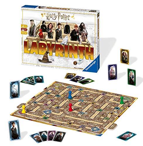 Ravensburger Familienspiele - 26031 Harry Potter Labyrinth - Harry Potter Fanartikel, Das Verrückte...