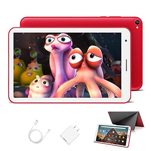 Kinder Tablet 8 Zoll mit WiFi 3GB + 32GB/128 Erweiterbar Android 10.0 Pie Zertifiziert von Google GMS...