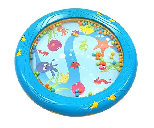 Musik für Kleine Meerestrommel Musikspielzeug für Kleinkinder und Babys ab 1 Jahr - 18 cm Durchmesser...