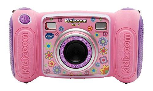 Vtech 80-193654 Kidizoom Kid 2 pink Kinderkamera, Rosa