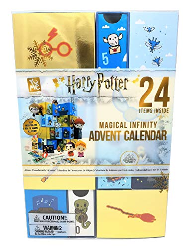 YuMe Maxx19136 Magical Advent Calendar Harry Potter Infinity Adventskalender mit 24 Schubfächern und...