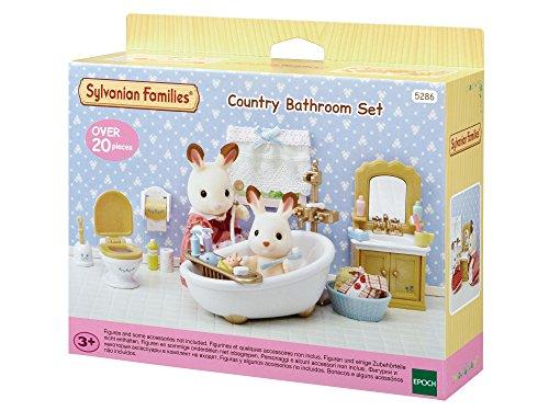 Sylvanian Families 5286 Badezimmer im Landhausstil - Puppenhaus Einrichtung Möbel