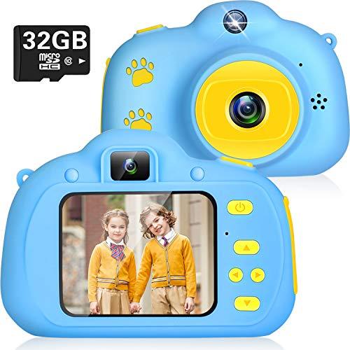ikotayou Kinderkamera Kinder Digitalkamera für Jungen Mädchen 1080P Selfie Fotokamera Bester...