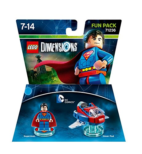 Lego Dimensions: Fun Pack - Superman (Comics DC) / Videospielspielzeug [ ]