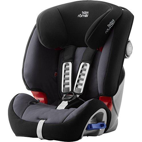 Britax Römer Reboarder Kindersitz 9 Monate - 6 Jahre | 9 - 25 kg | Multi-Tech III Autositz Gruppe 1/2 |...