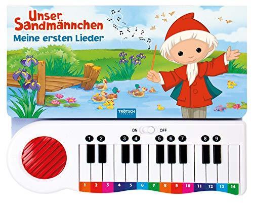 Trötsch Unser Sandmännchen Klavierbuch Meine ersten Lieder: Beschäftigungsbuch Soundbuch Liederbuch