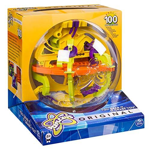 Spin Master Games Perplexus Original, Geschicklichkeitsspiel, 100 Herausforderungen