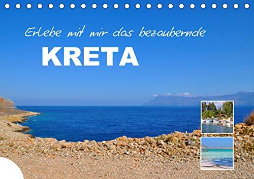 Erlebe mit mir das bezaubernde Kreta (Tischkalender 2021 DIN A5 quer)