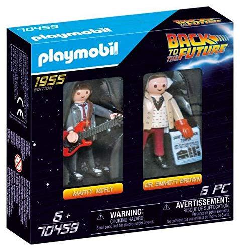 PLAYMOBIL  70459 Back to the Future Marty Mcfly und Dr. Emmett Brown, ab 6 Jahren