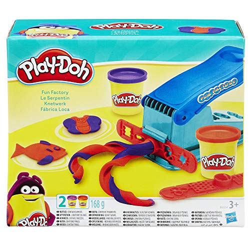 Play-Doh B5554 Knetwerkpresse toys inkl. 2 Dosen Knete
