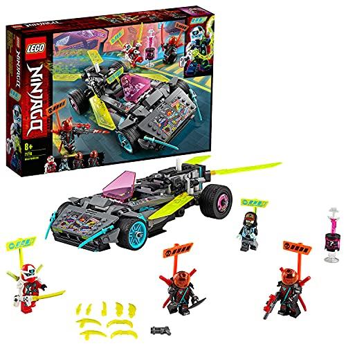 Lego71710NINJAGONinja-Tuning-FahrzeugmitWaffenundKlingen,Bauset,PrimeEmpireRennfahrz...