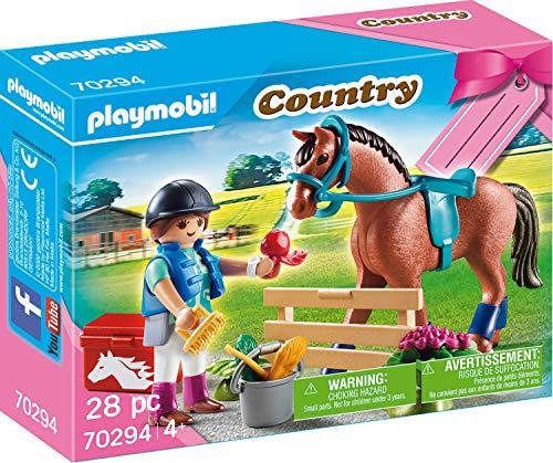 PLAYMOBIL 70294 Geschenkset 'Reiterhof', ab 4 Jahren