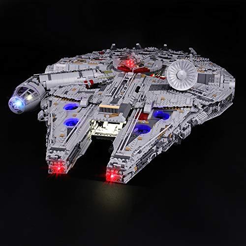 LIGHTAILING Licht-Set Für (Star Wars Millennium Falcon) Modell - LED Licht-Set Kompatibel Mit Lego...