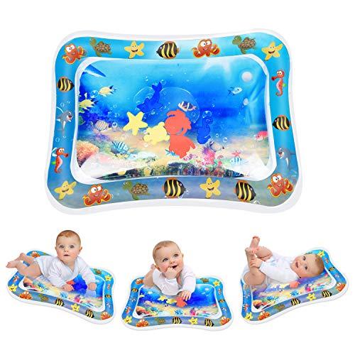 75*60 cm JOYSPACE Wassermatte Baby Wasserspielmatte BPA-frei Aufblasbare Bauchzeit Matte f/ür Kleinkinder Baby Spielzeug 3 6 9 Monate Spa/ßaktivit/äten Spielcenter Das Stimulations Wachstum Ihres Babys