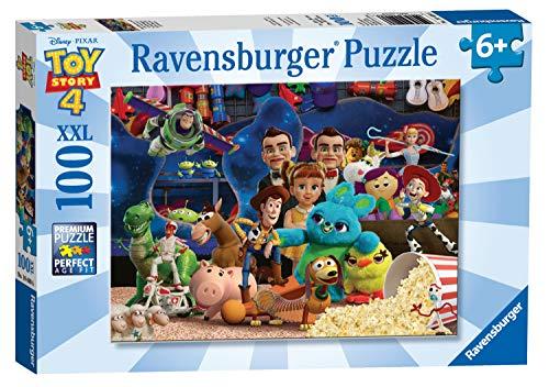 Ravensburger - Puzzle 100 Teile XXL Toy Story 4 Pixar Disney Kinder 4005556104086