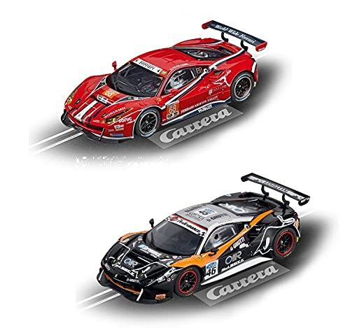 Carrera Evolution 132 Doppelpack 2X DTM ohne Boxen aus Set