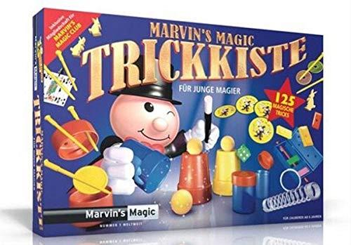 Marvin's Magic 54063 - Zauberkasten Marvin`s Zauber-Set 125 Tricks, Komplettset für 125 Zaubertricks,...