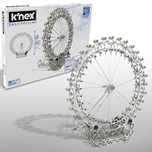 K'Nex 15237 Architecture London Eye Hobby Bastelset, 1856 Teile Modellbausatz Bauset für Jugendliche und...