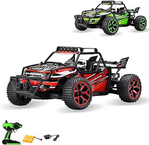 Aandyou Ferngesteuertes Auto,RC Auto 1:18, High Speed RC Off Road Auto, 2.4 GHz 4WD Monstertruck für...