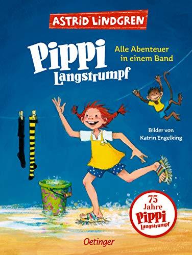 Pippi Langstrumpf. Alle Abenteuer in einem Band: Alle drei farbig illustrierten Pippi-Geschichten von...