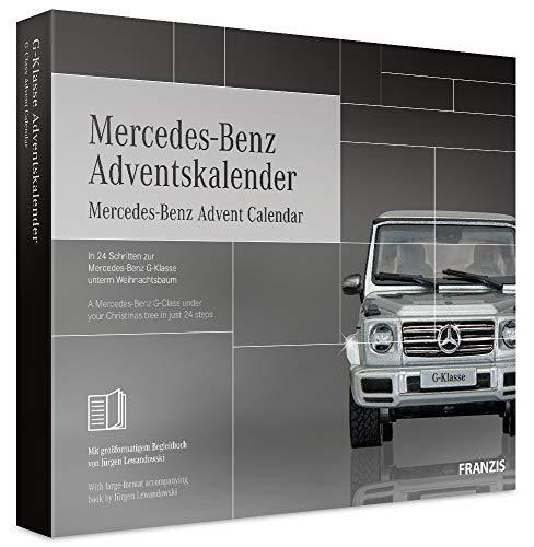 FRANZIS 67052 - Mercedes Benz Adventskalender – in 24 Schritten zur Mercedes G-Klasse unterm...