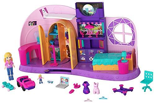 Mattel Polly Pocket FRY98 'Und… Klein Zimmer' Spielzeug