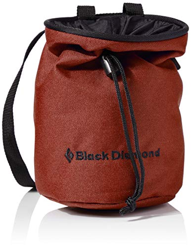 Black Diamond Unisex– Erwachsene MOJO Chalk Bag Chalkbag, Magnesia-Beutel, Red Oxide, Medium/Large