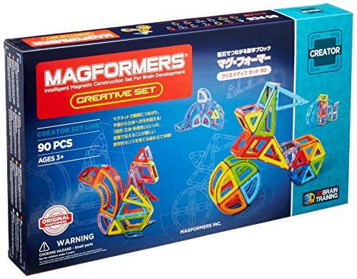 MAGFORMERS 703004 Creatieve Set, 90dlg