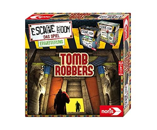 noris 606101964 - Escape Room Erweiterung Tomb Robbers - Familien und Gesellschaftsspiel für Erwachsene...
